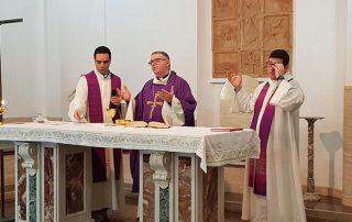 Messa Vescovo_03 Domus Aurea Scauri